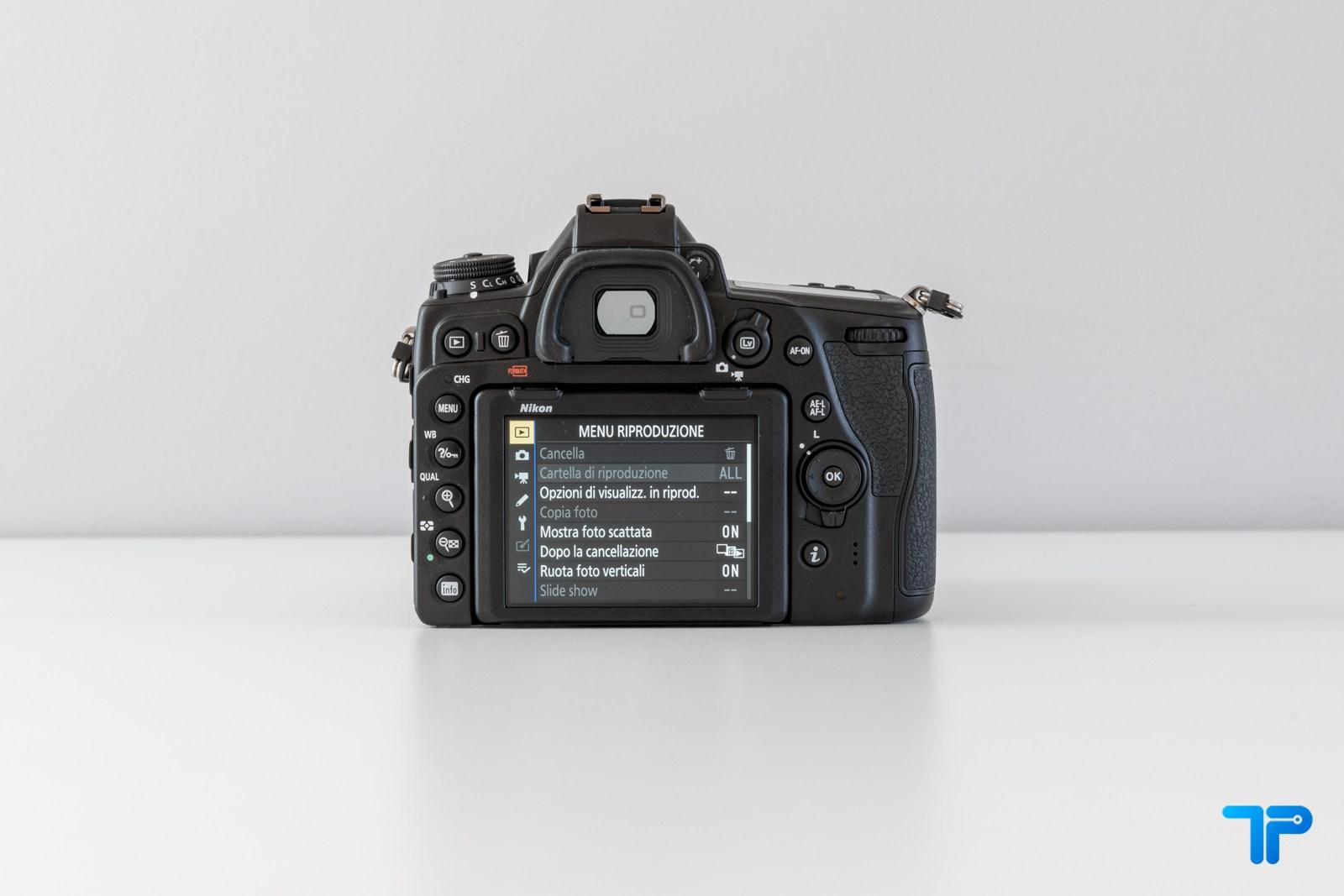 Il retro della Nikon D780