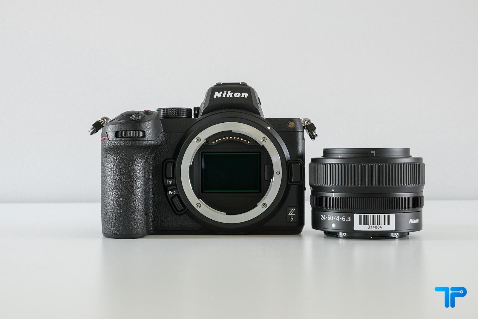 Nikon Z5: il kit con Nikkor Z 24-50mm f/4-6,3