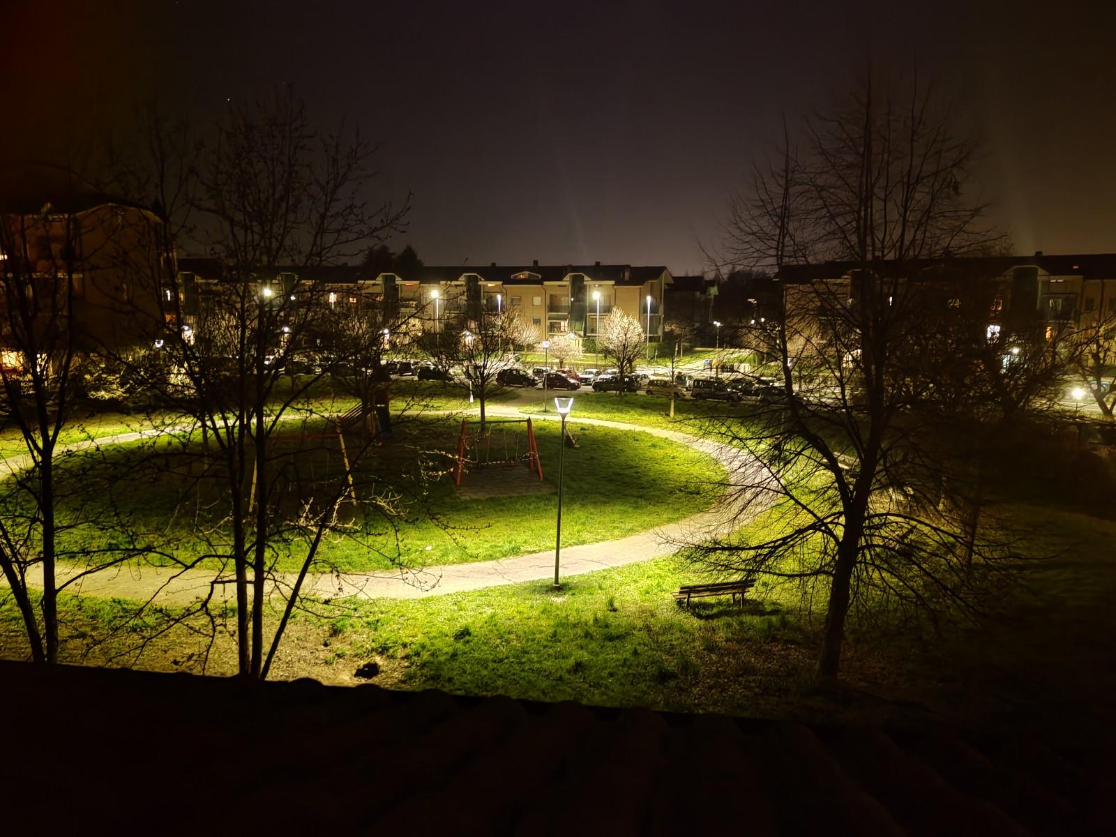 Modalità notte attiva